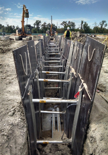 Should I Rent or Buy Trench Shoring & Shielding Equipment?